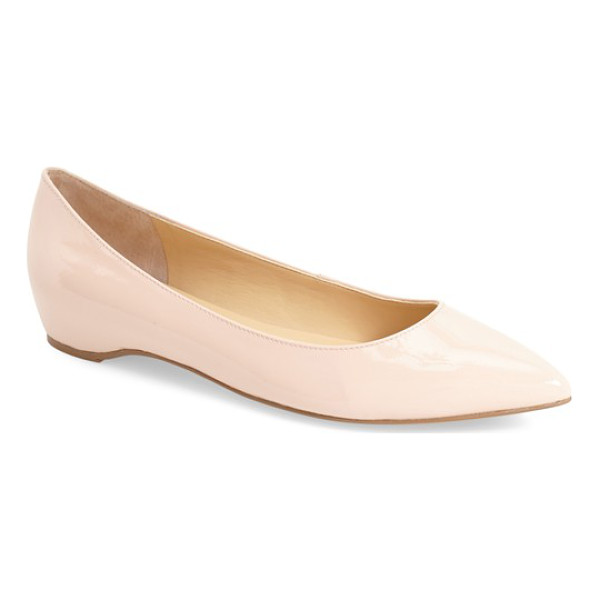IVANKA TRUMP 'chic' flat - The season's essential almond-toe flat gets a little lift...