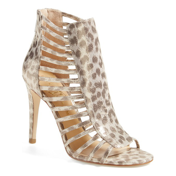 IVANKA TRUMP davinic open toe sandal - An open-toe sandal becomes ever-more alluring with a...