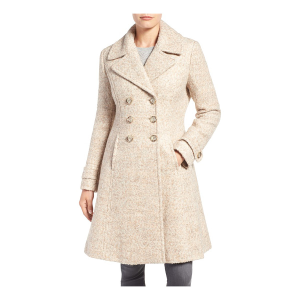 IVANKA TRUMP double breasted fit & flare coat - Tailored to skim the figure before flaring elegantly at the...