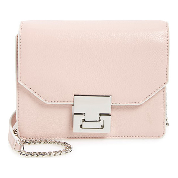 IVANKA TRUMP Hopewell leather crossbody bag - Contrast edging and pristine hardware accentuate the modern...
