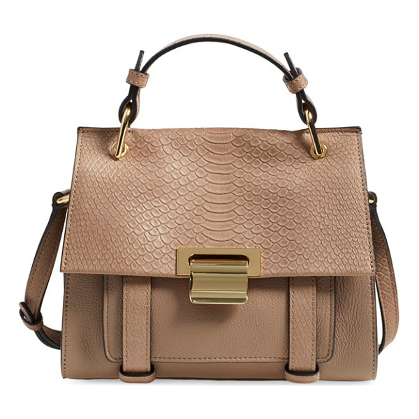 IVANKA TRUMP Mini turner leather satchel - This sophisticated satchel serves as an everyday statement...