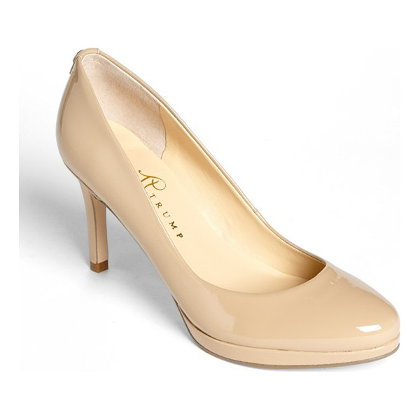 IVANKA TRUMP sophia pump - A just-right platform and slim heel elevate this elegantly...