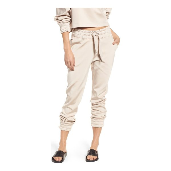 IVY PARK satin jogger pants - Paneled in soft, supple satin, easygoing joggers take on...