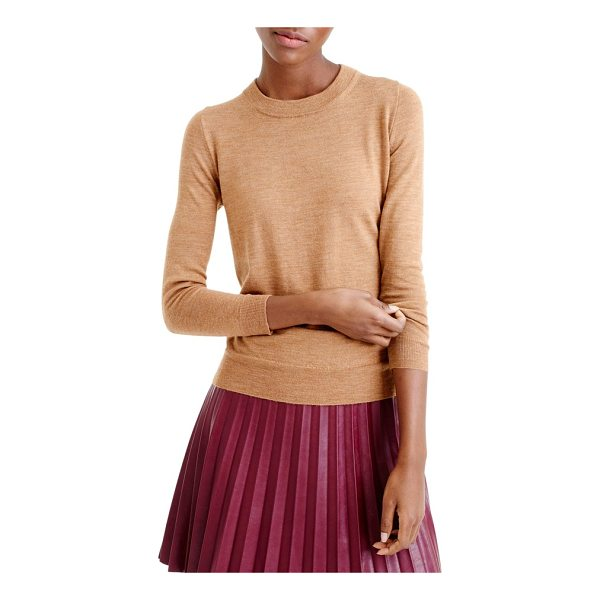 J.CREW j.crew tippi merino wool sweater - The sweater you'll wear with almost everything. It's soft,...