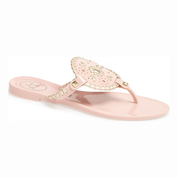 JACK ROGERS 'georgica' jelly flip flop - The Georgica flip-flop maintains its signature style and...