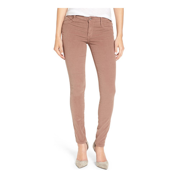 JAMES JEANS twiggy corduroy skinny pants - Color-saturated corduroy skinny pants hug every curve just...