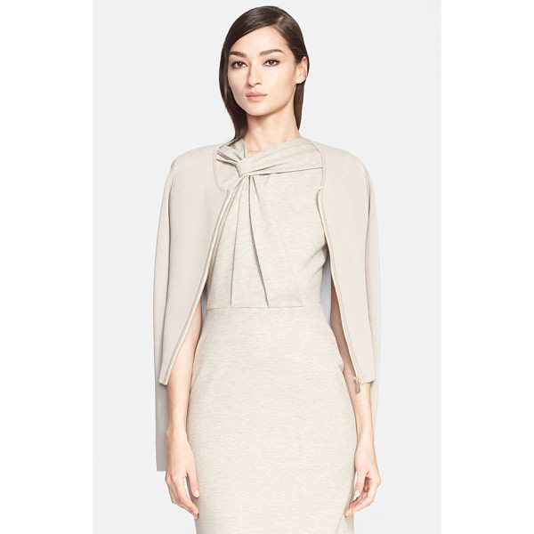 JASON WU zip front cardigan - This fine-gauge knit cardigan is modern and streamlined...