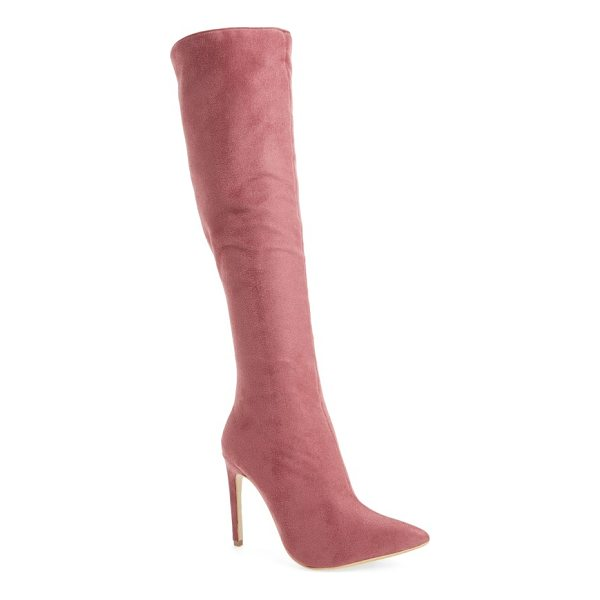 JEFFREY CAMPBELL jalouse knee high boot - This sleek and sultry knee-high boot made for an...