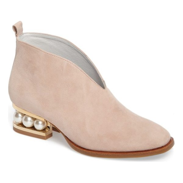 JEFFREY CAMPBELL jermane v-cut bootie - A plunging V-cut topline and a softly squared toe bring...