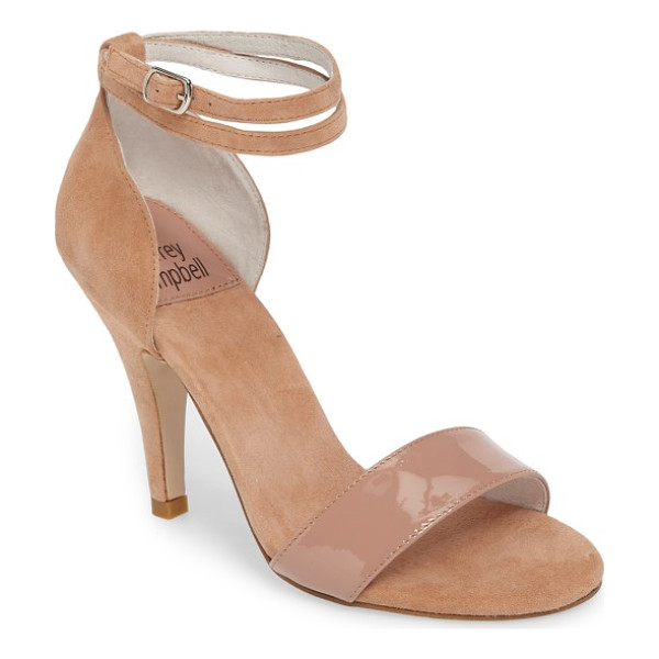 JEFFREY CAMPBELL kristy ankle strap sandal - Jeffrey Campbell gets maximum impact from a minimalist play...