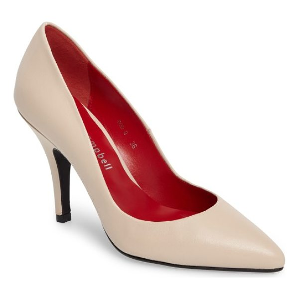 JEFFREY CAMPBELL sachi pointy toe pump - Timeless styling mixed with the enhanced comfort of a...