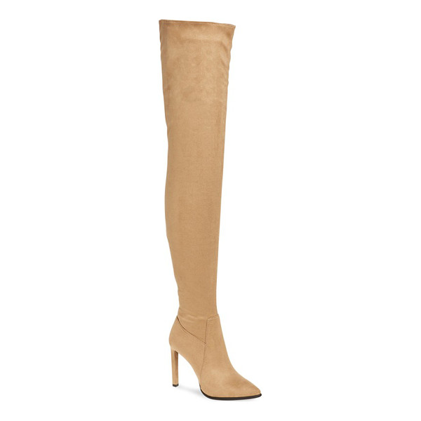 JEFFREY CAMPBELL 'sherise' over the knee boot - Major fashion moments are inevitable with this boldly...
