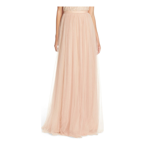 JENNY YOO 'arabella' tulle ballgown skirt - Romantic and ethereal, a voluminous skirt sweeps the floor...