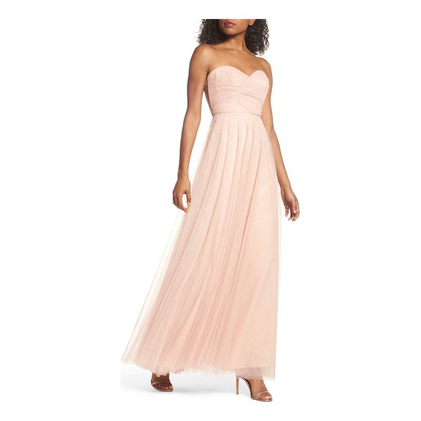 JENNY YOO julia convertible soft tulle gown -