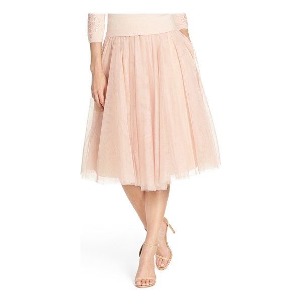 JENNY YOO 'lucy' tulle skirt - An A-line skirt offers delightful flounce sewn from layers...