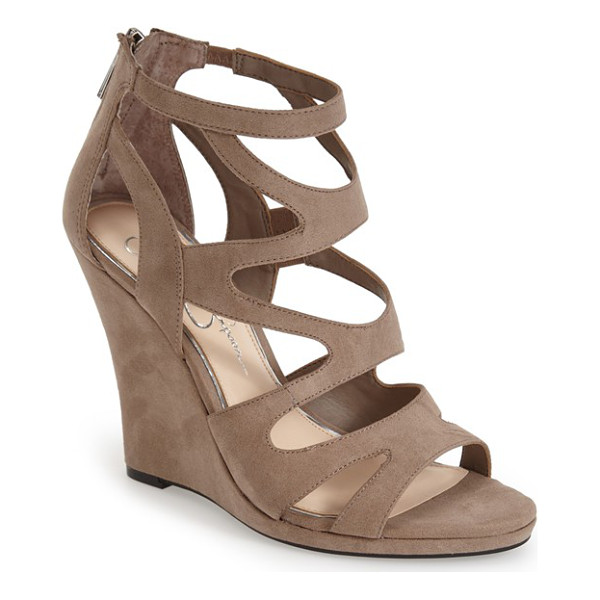 JESSICA SIMPSON delina sandal - This supersoft sandal features a mix of curvaceous straps...