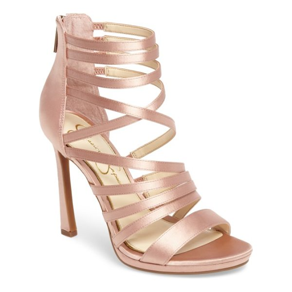 JESSICA SIMPSON palkaya strappy sandal - Perfect for an evening out, a strappy sandal balanced on a...