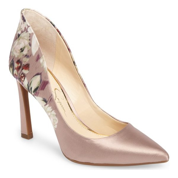 JESSICA SIMPSON parma pointy toe pump - Refresh your look for any special occasion with this...