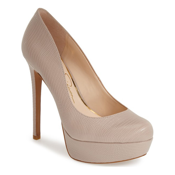 JESSICA SIMPSON sandrah platform pump - With curves in all the right places, this stunning...