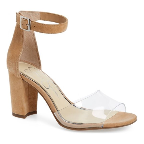 JESSICA SIMPSON sherron sandal - Shimmer and sparkle with every step in this eye-catching