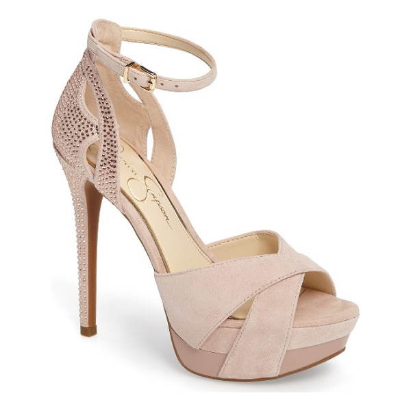 JESSICA SIMPSON wendah strappy platform sandal - The shoe you can't wait to show off, this strappy-heel,...