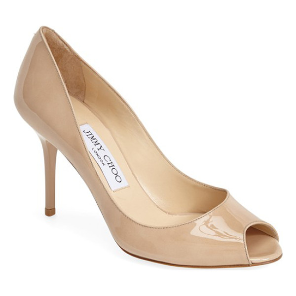 JIMMY CHOO evelyn pump - A low-cut topline flatters from every angle in an essential...