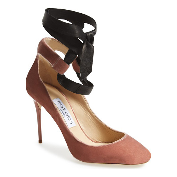 JIMMY CHOO rosana pump - Inspired by the sense of discipline and artistry that lies...