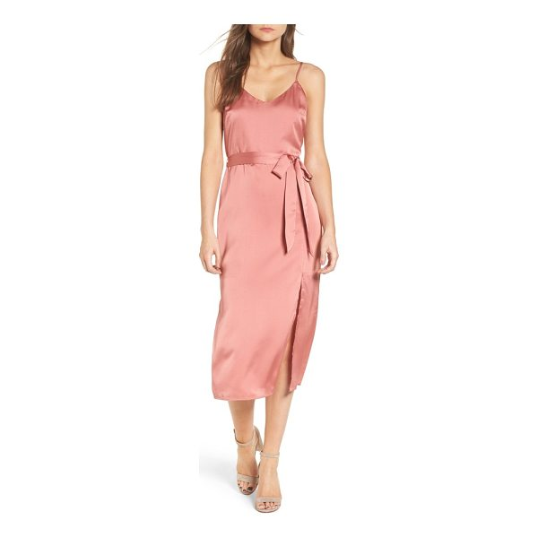 J.O.A. midi slipdress - A slipdress transitions easily from season to season with...