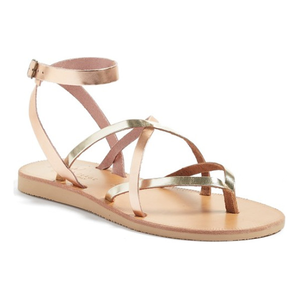 JOIE 'oda' flat sandal - Svelte, crisscrossing straps wrap the foot on a chic flat