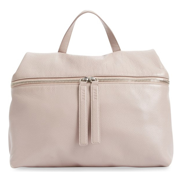 KARA pebbled leather satchel - A satchel-style version of KARA's signature backpack, this