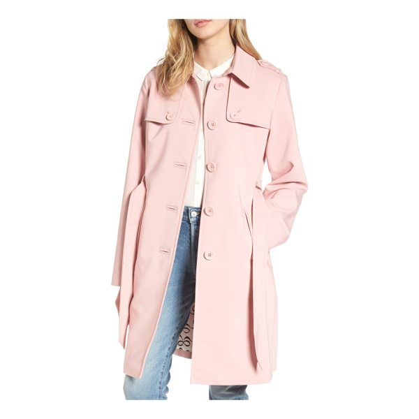 KATE SPADE NEW YORK 3-in-1 trench coat - Stay dry in inclement weather wearing this water-resistant...