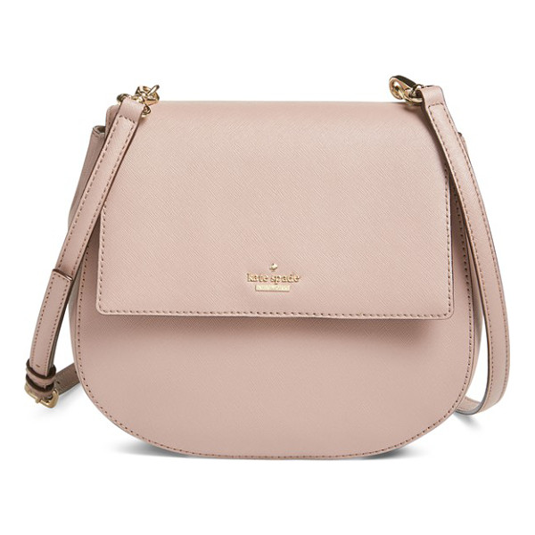 KATE SPADE NEW YORK Cameron street - Rich, crosshatched leather shapes a compact crossbody bag...