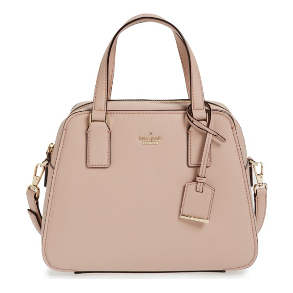 KATE SPADE NEW YORK cameron street - Crosshatched leather accentuates the clean, structured...