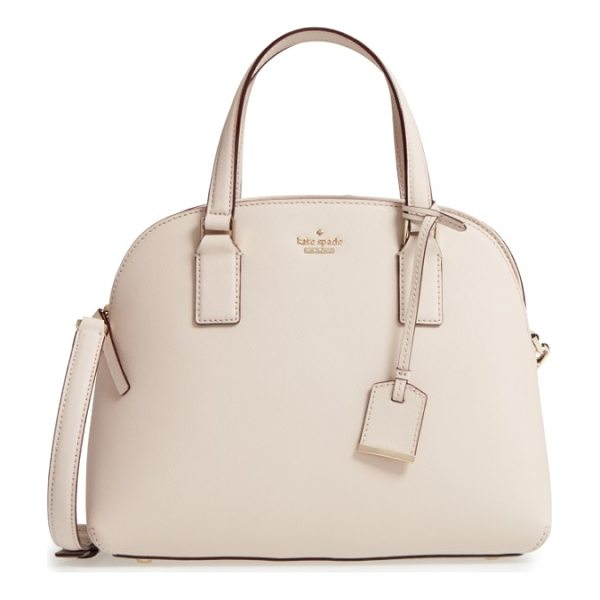 KATE SPADE NEW YORK cameron street - A go-to leather satchel finished with gleaming goldtone...