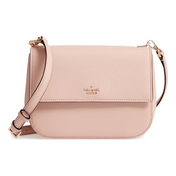 KATE SPADE NEW YORK cameron street dotty crossbody bag - Crosshatched leather adds subtle texture and sophistication...