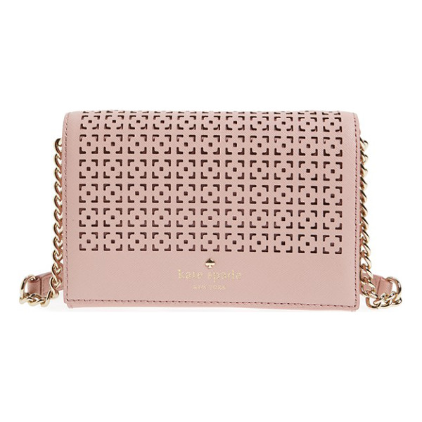 KATE SPADE NEW YORK Cedar street - A perforated flap provides an ultrachic update for kate...