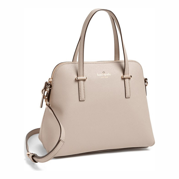 KATE SPADE NEW YORK Cedar street - A tidy satchel crafted from lavishly textured leather is...