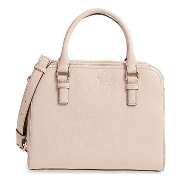 KATE SPADE NEW YORK cobble hill - A structured and perfectly proportioned satchel shaped from...
