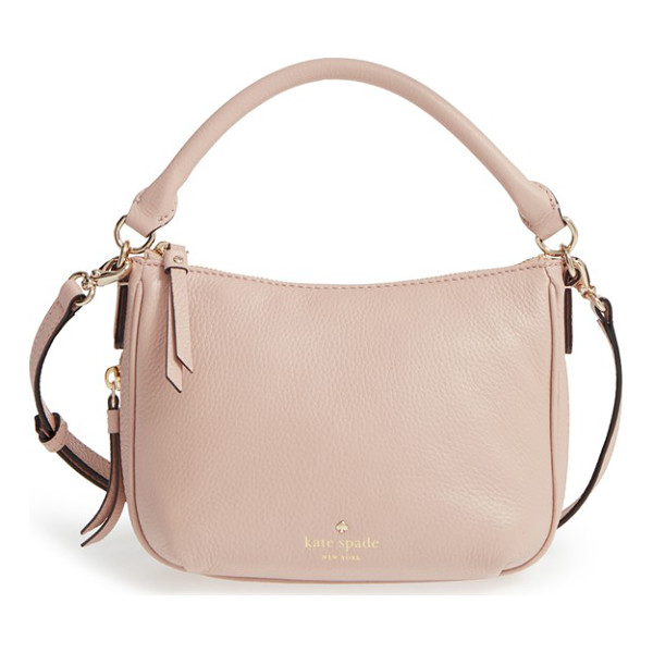 KATE SPADE NEW YORK Cobble hill - A sized-down crossbody shaped from finely pebbled leather...