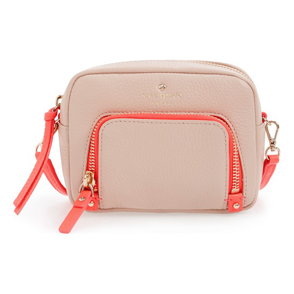 KATE SPADE NEW YORK Cobble hill - A scaled-tiny crossbody bag that can also be carried as a...