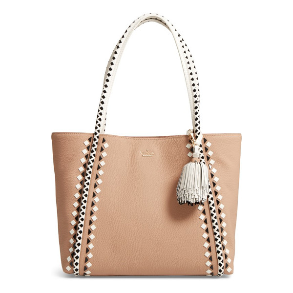 KATE SPADE NEW YORK crown street - A lightly structured tote of soft pebbled leather lives in...