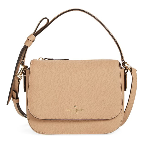 KATE SPADE NEW YORK daniels drive - A chic crossbody bag shaped from finely pebbled leather and