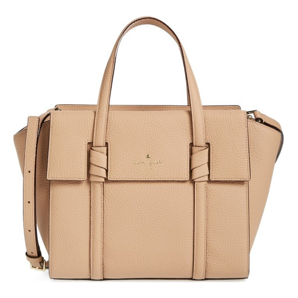 KATE SPADE NEW YORK daniels drive - A scaled-down yet still roomy satchel crafted from supple...