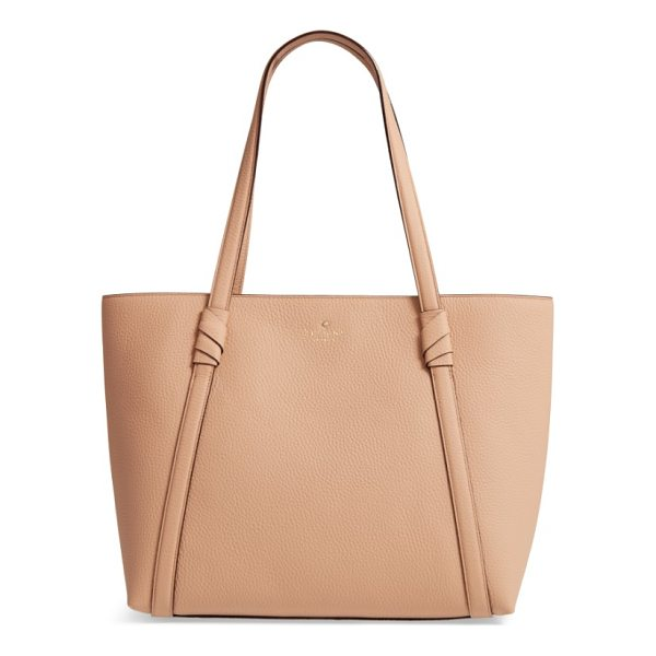 KATE SPADE NEW YORK daniels drive - Knotted details anchor the slim over-the-shoulder straps of...