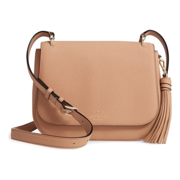 KATE SPADE NEW YORK daniels drive - Texture takes center stage on this neutral-hued bag made...