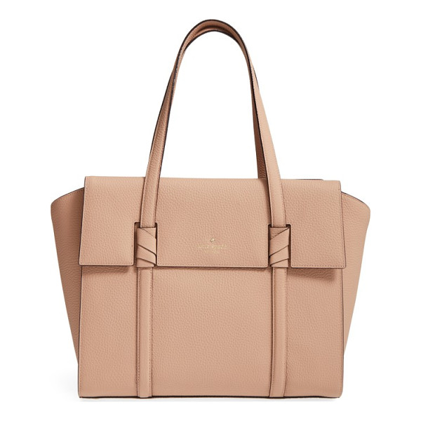 KATE SPADE NEW YORK daniels drive - A spacious satchel crafted from supple pebbled leather and...