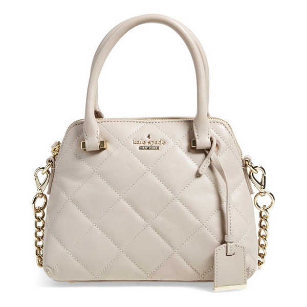 KATE SPADE NEW YORK Emerson place - A diamond-quilted finish underscores the vintage...