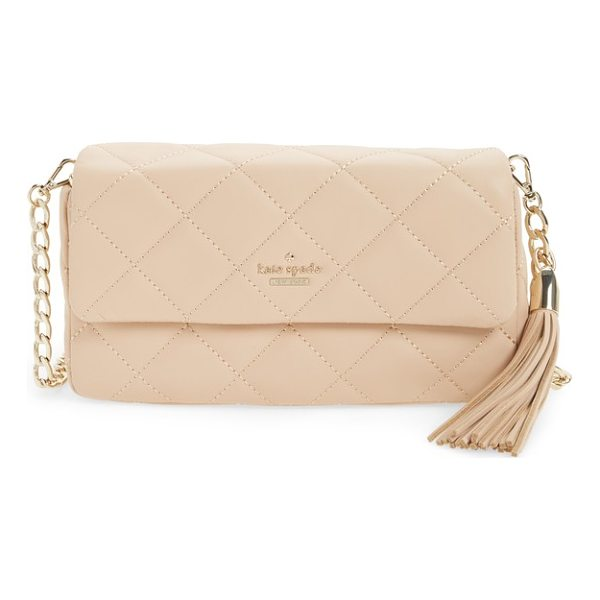 KATE SPADE NEW YORK emerson place - Tonal diamond quilting adds lush texture to a timelessly...