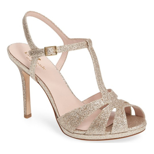 KATE SPADE NEW YORK feodora sandal - Punctuate your evening style with a strappy,