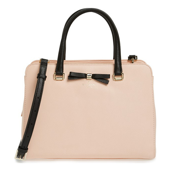 KATE SPADE NEW YORK Henderson street - A dainty kate spade bow provides a polished finish for a...